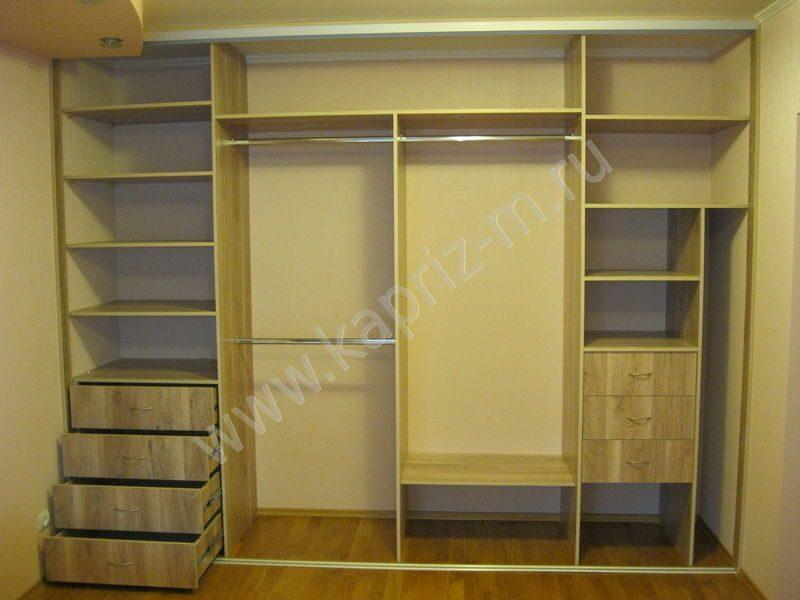 Образцы встроенных шкафов купе фото